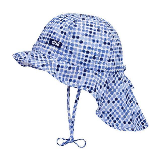 Döll Sonnenhut mit UV-Schutz 50+ mit Nackenschutz für Mädchen | Accessoires > Hüte > Sonnenhüte | Döll