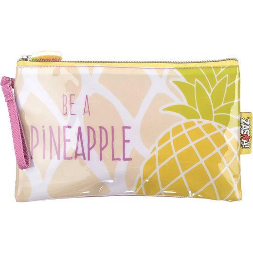 ZASKA! Kosmetiktasche Pineapple Ananas