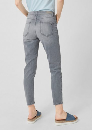 s.Oliver Shape Ankle: Graue Stretchjeans
