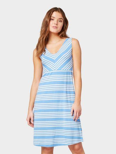 TOM TAILOR Sommerkleid »Gemustertes Kleid«