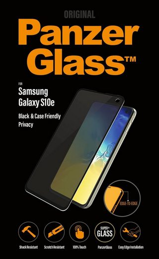 PanzerGlass Schutzglas »Privacy Case Friendly Samsung Galaxy S10e«