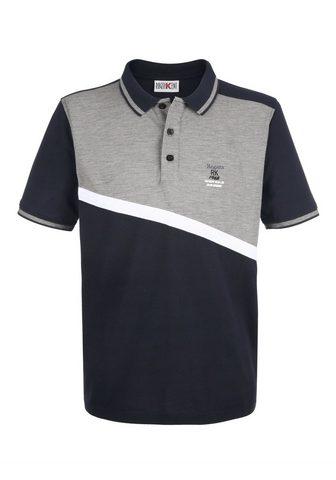 ROGER KENT Polo marškinėliai su Kontrasteinsatz