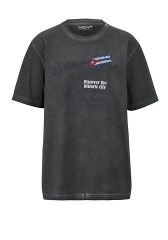 MEN PLUS BY HAPPY SIZE Marškinėliai oil wash