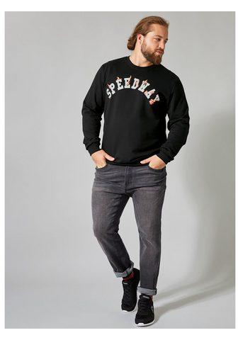 MEN PLUS BY HAPPY SIZE Sportinio stiliaus megztinis