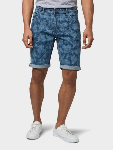 TOM TAILOR Slim-fit-Jeans »Josh Regular Slim Denim Shorts«