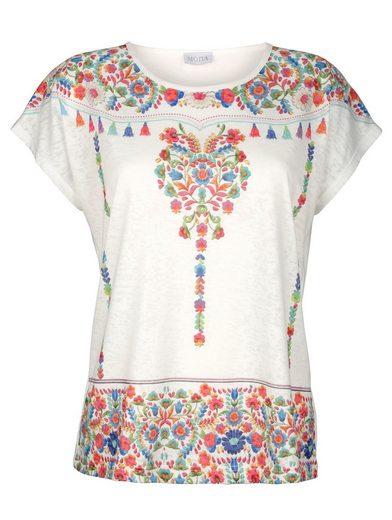 Mona Shirt mit platziertem Druck-Motiv