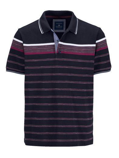 Babista Poloshirt mit garngefärbten Streifen