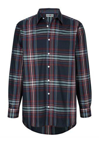 ROGER KENT Marškiniai su užsėgama kišenė