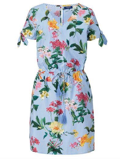 Conleys Blue Kleid mit Blumenprint