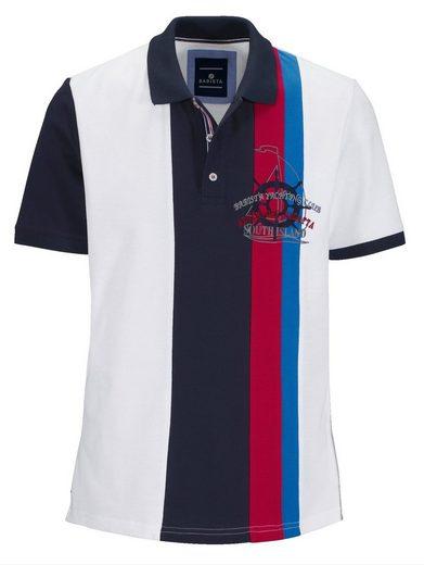 Babista Poloshirt mit farbigen Einsätzen