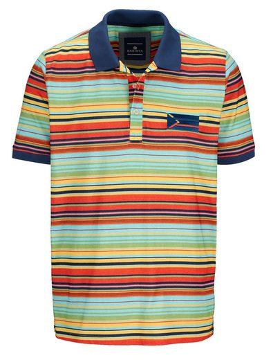 Babista Poloshirt mit bedrucktem Streifendessin