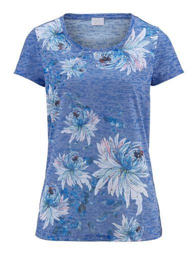 Alba Moda Shirt aus Ausbrennerware