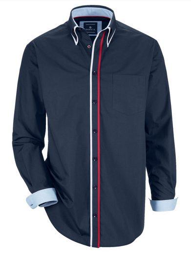 Babista Hemd mit Doppelkragen im Button-Down-Stil