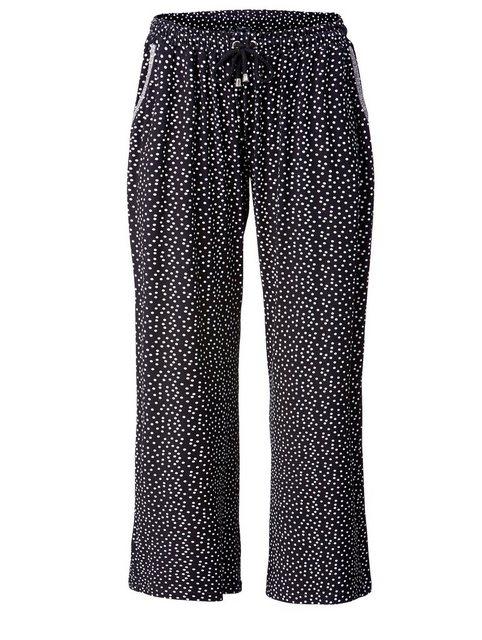 Hosen - Angel of Style by Happy Size Jersey Hose gepunktet › schwarz  - Onlineshop OTTO