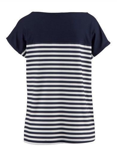 Alba Moda Shirt im Patchdessin