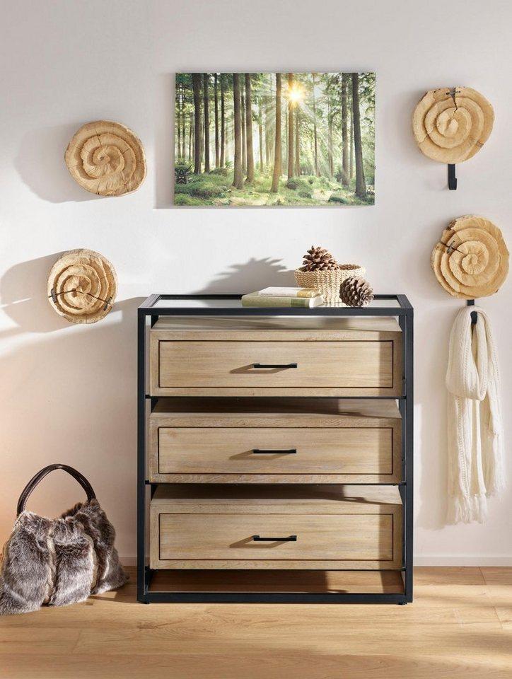Heine Home Wanddeko Aus Massivem Holz Kaufen Otto