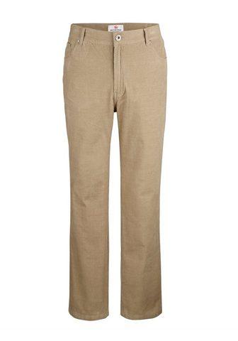 BOSTON PARK Velvetinės kelnės in 5 kišenės forma