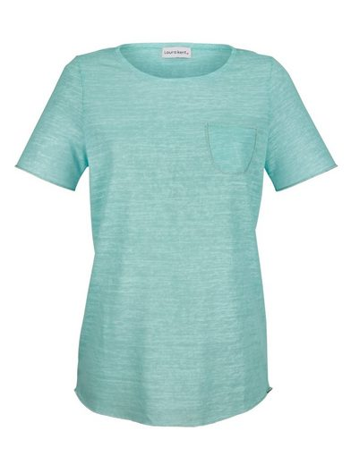 Laura Kent Shirt mit Glanzgarndetails