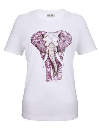 Laura Kent Shirt mit Elefanten Druck