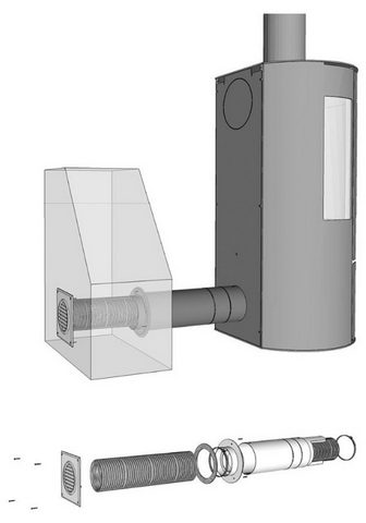 ADURO Вентилятор »Frischluftsystem &Os...