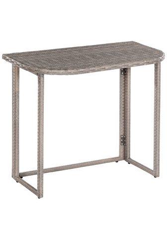 MERXX Sodo stalas »Klapptisch dėl Eckbank« S...