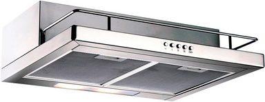 SILVERLINE Unterbauhaube »ZEU 600 E«, mit Ablage, Breite 60 cm
