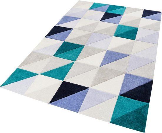 Teppich »Fastlane«, Esprit, rechteckig, Höhe 9 mm