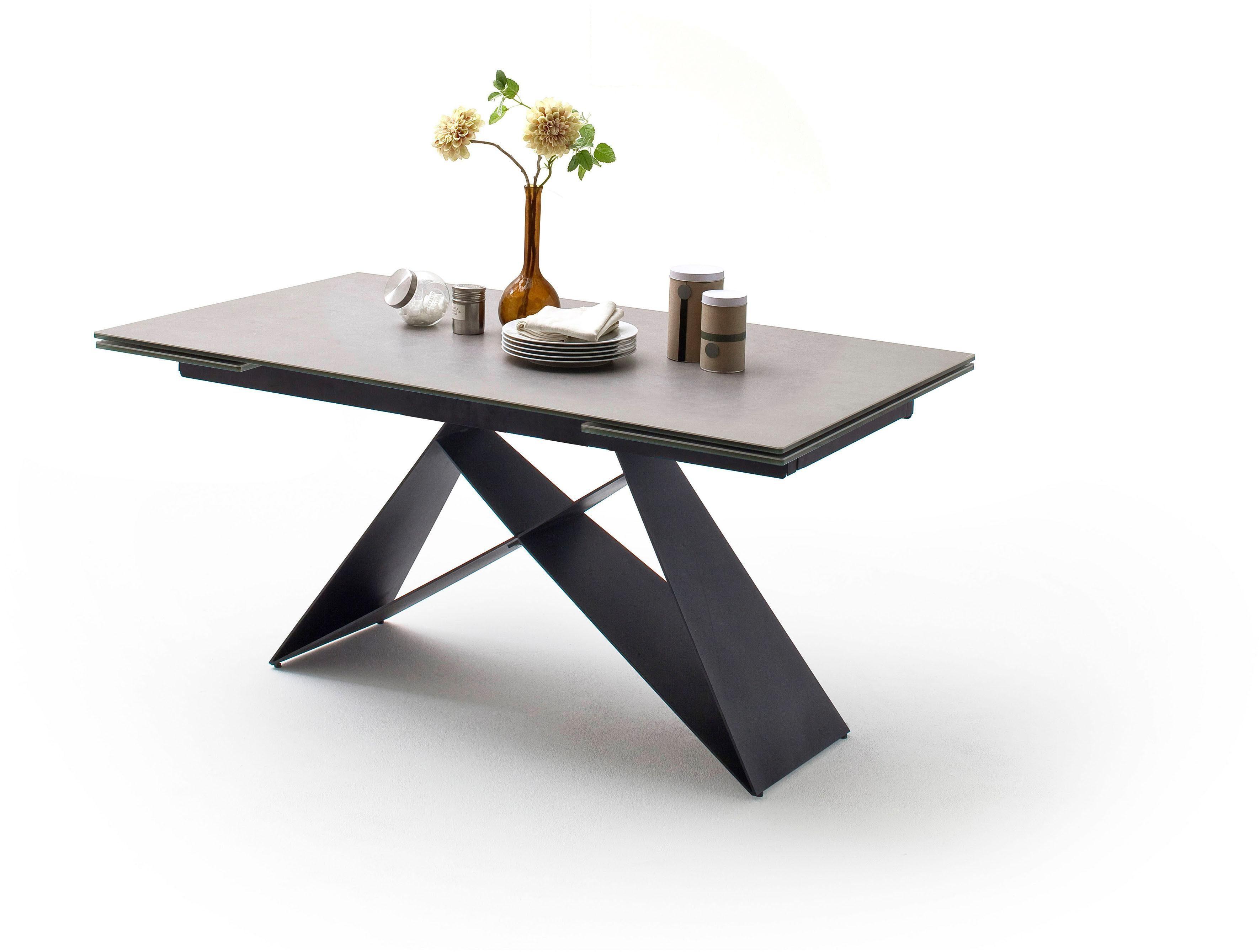 MCA furniture Esstisch »Kobe«, Esstisch Glas Keramik mit Stirnauszug online kaufen | OTTO