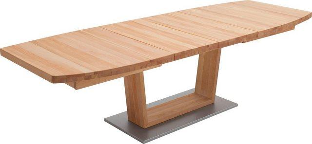 Tische - MCA furniture Säulen Esstisch »Cantania«, mit Synchronauszug  - Onlineshop OTTO