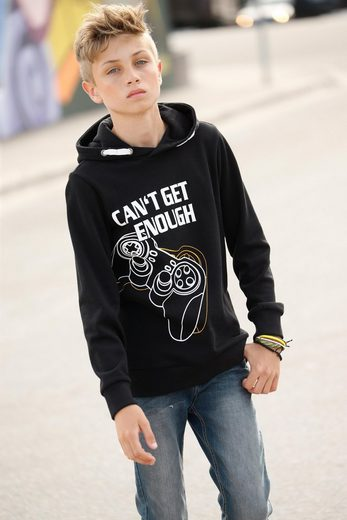 Arizona Kapuzensweatshirt mit coolem Druck vorn