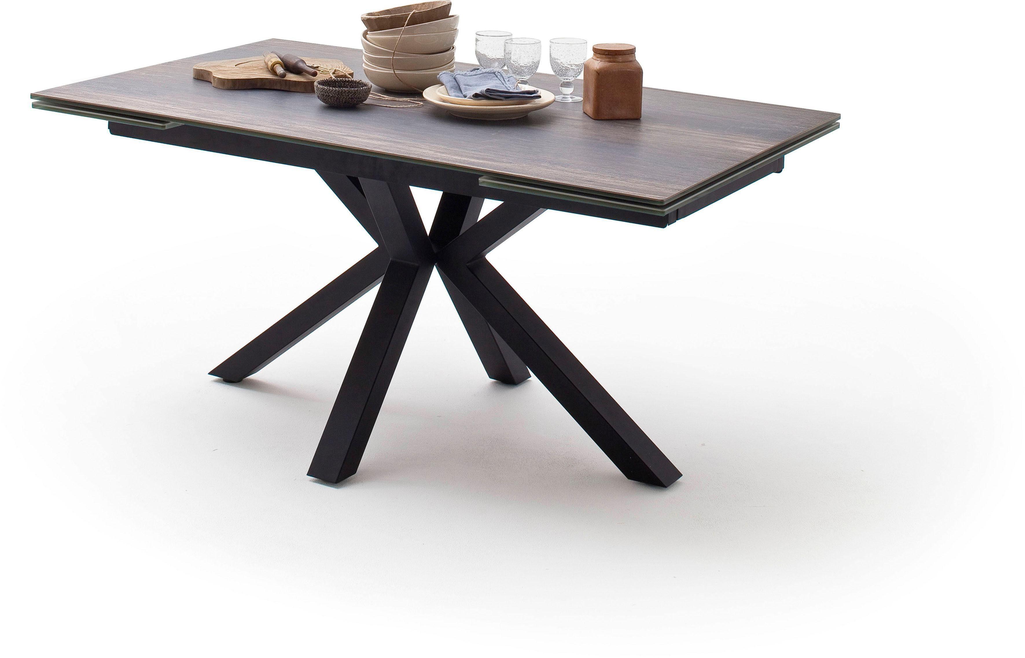 MCA furniture Esstisch »Nagano«, Esstisch Glas Keramik mit Stirnauszug online kaufen | OTTO