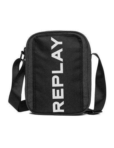 Replay Umhängetasche, mit modischem Logo Druck