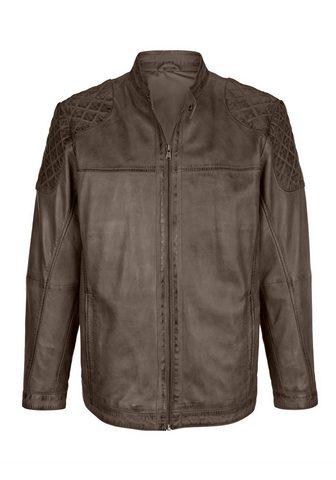 Куртка кожаная из Lammleder