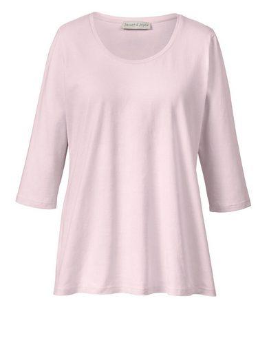 Janet und Joyce by Happy Size Basic Shirt