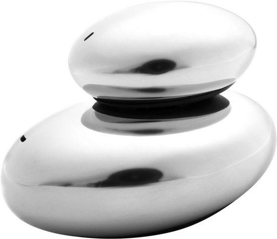 nurso Salz- / Pfefferstreuer, (Set, 2-tlg), Edelstahl 18/10
