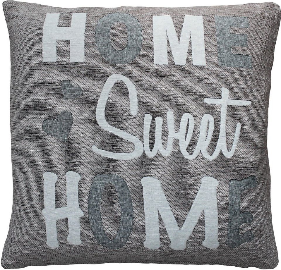 Kissenhulle Home Sweet Home Hossner Homecollection 2er Set Online Kaufen Otto