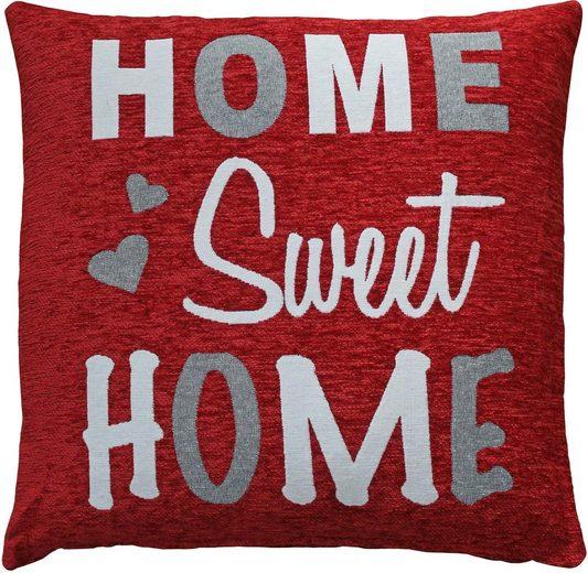 Kissenhülle »Home Sweet Home«, HOSSNER - HOMECOLLECTION, 2er Set