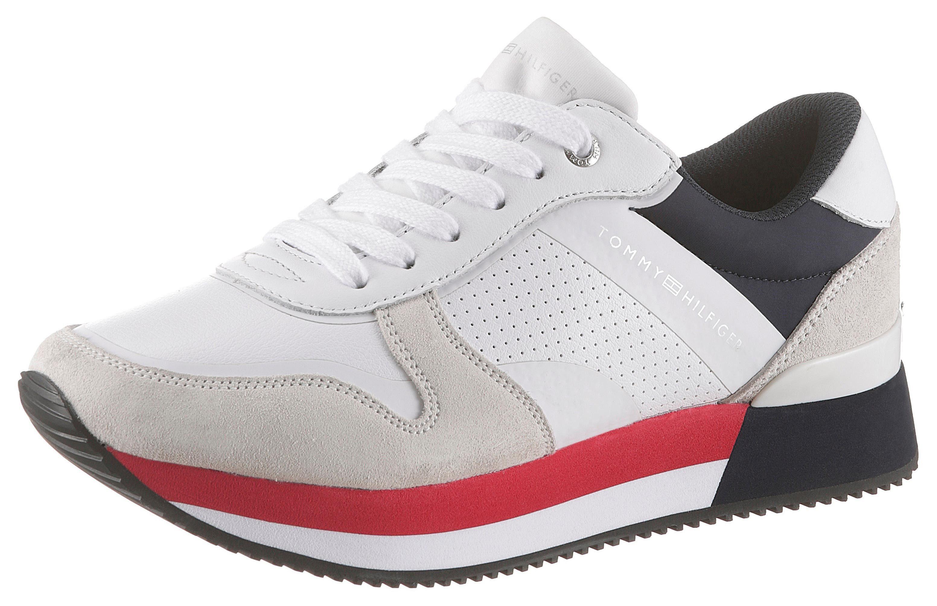 TOMMY HILFIGER »WMNS NEIL 3A« Sneaker mit 2,5 cm Plateausohle online kaufen | OTTO