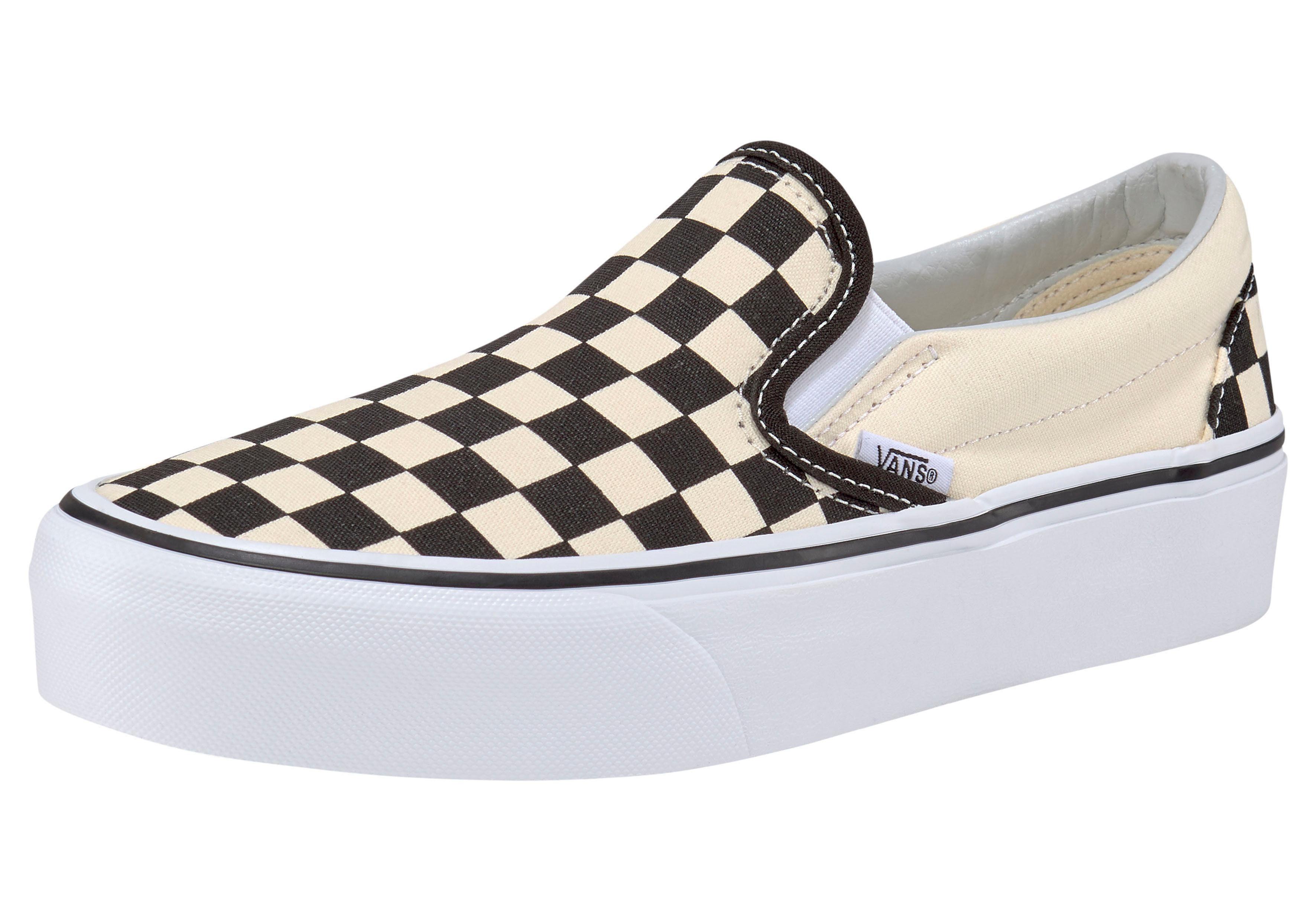 Vans »Classic Slip On Platform Checkerboard« Plateausneaker online kaufen | OTTO