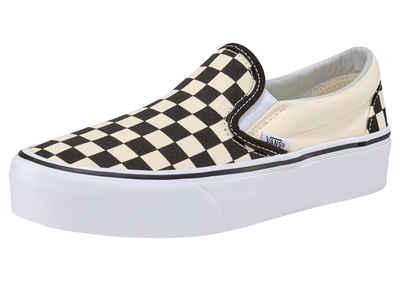 Vans »Classic Slip-On Platform Checkerboard« Plateausneaker