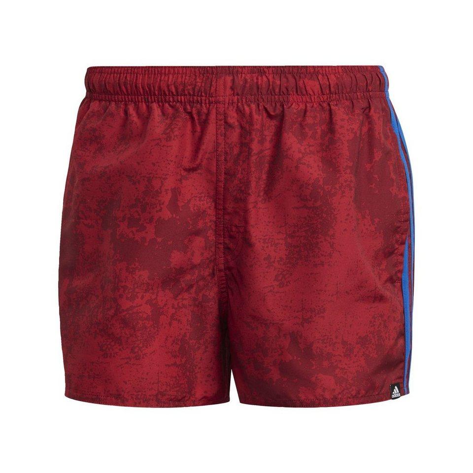 2f91b3e27eb adidas Performance Badeshorts »3-Stripes Allover Print Swim Shorts ...