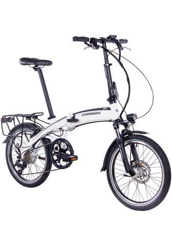 CHRISSON Elektrinis dviratis sudedamas dviratis...