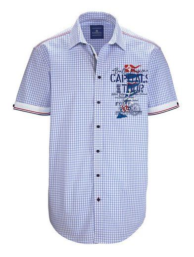 Babista Hemd mit Zierband am Armabschluss