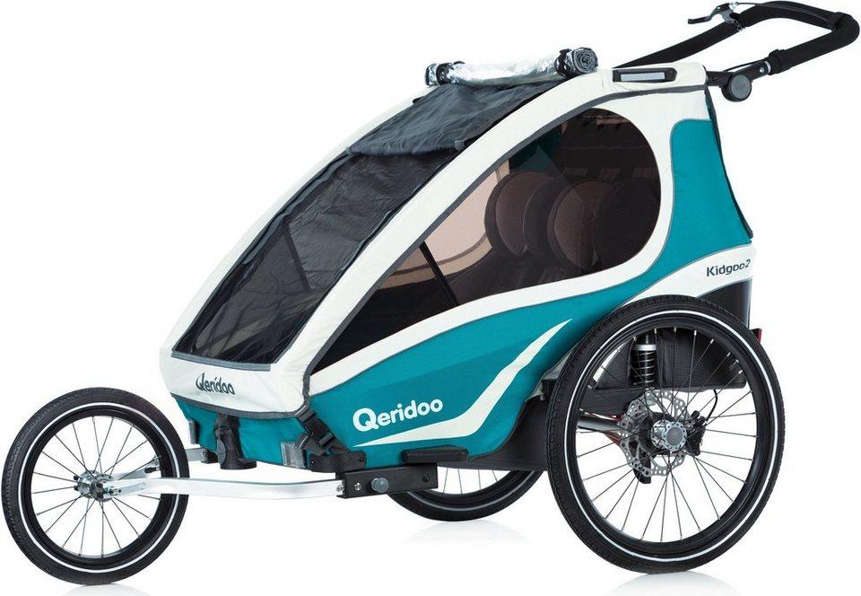 Qeridoo Fahrradkinderanhänger »Kidgoo2 Sport« | OTTO