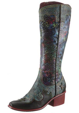 LAURA VITA Kaubojiško stiliaus batai »Cecaio«