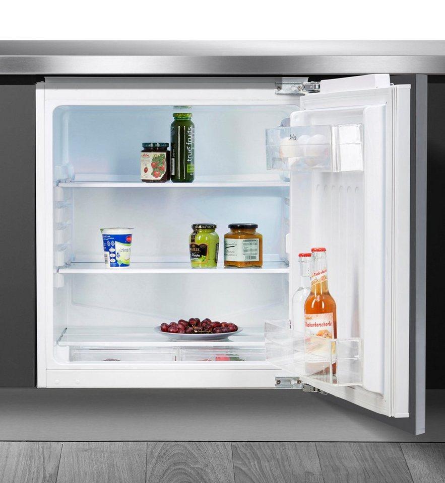 Amica Einbaukühlschrank UVKSS 351 900, 81,8 Cm Hoch, 60 Cm Breit