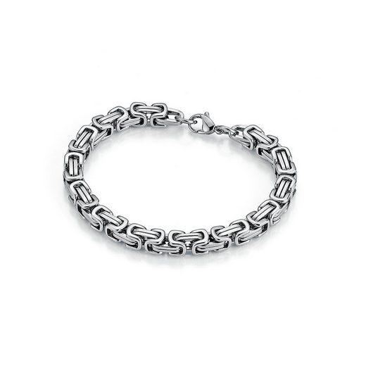 Jacques Charrel Armband »massiv, Königsarmbandoptik«