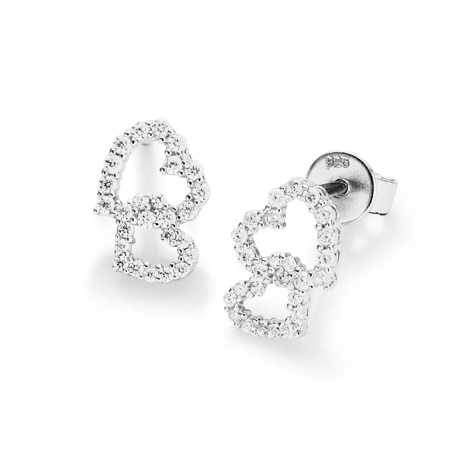 Kaufen Ohrstecker Paar Jewel Smart »doppelherz« Nw8yvm0PnO
