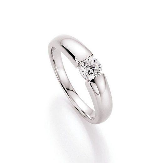 Smart Jewel Verlobungsring »glamouröse Optik mit Zirkonia«