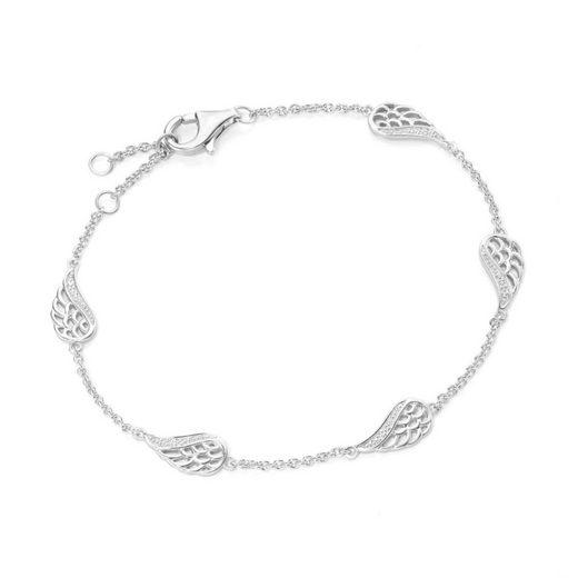 Smart Jewel Armband »elegant mit Zirkonia«